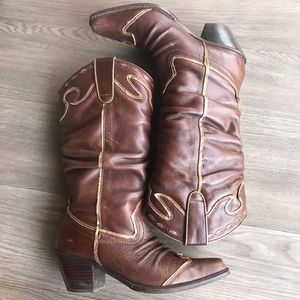 Slouchy Cowboy Boots